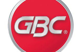 Encuadernadoras espiral GBC logo