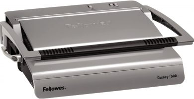 Fellowes Galaxy 500 - Encuadernadora manual de canutillo de plástico, uso intenso