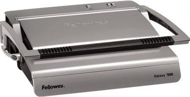 Fellowes Galaxy 500 - Encuadernadora manual de canutillo de plástico, uso intenso