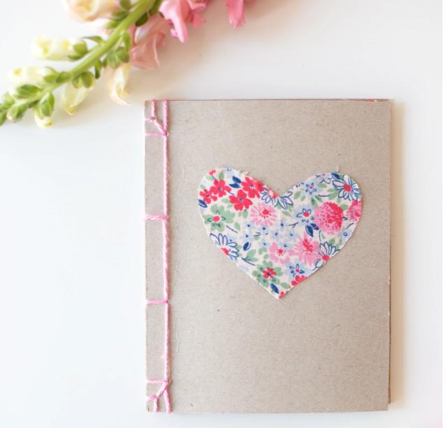 cuaderno o agenda japones con encuadernacion artesanal