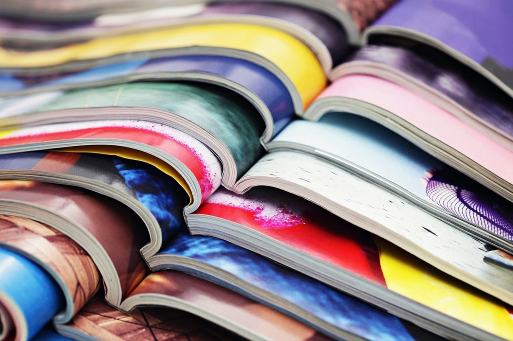 ejemplo encuadernación térmica revistas