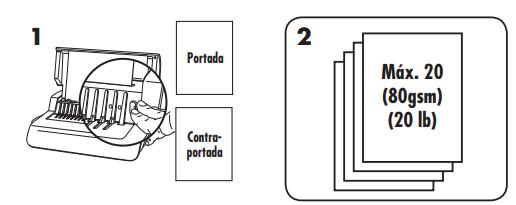 proceso de encuadernacion elctrico de canutillo 1 de 2