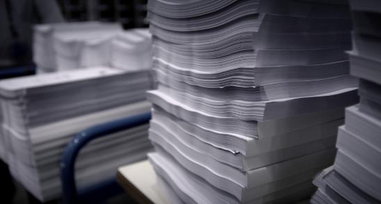 tipos de papel para encuadernadar